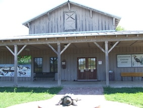 Conservation Learning Center Building at Black Bayou Lake NWR Monroe Louisiana. Photo by Nancy Blackwell