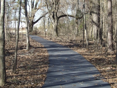 Paved Walking Trail at Black Bayou Lake NWR